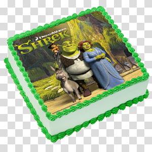 Birthday cake Donkey Princess Fiona Torte Shrek, donkey PNG
