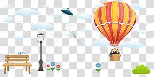 Hot air balloon Graphic design, balloon PNG