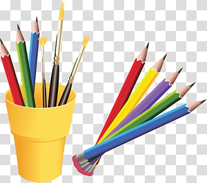Pencil Drawing Painting, Pen case PNG clipart