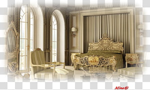 Mission style furniture Bedroom Furniture Sets Rococo Antique furniture, house PNG