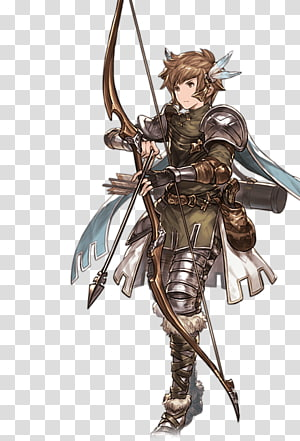 Granblue Fantasy Cygames Character, granblue female characters PNG