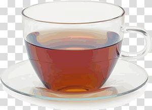 Green tea Coffee cup Camellia sinensis, iced tea PNG