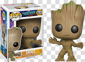 Baby Groot Rocket Raccoon Star-Lord Funko, rocket raccoon PNG clipart