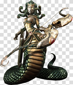 Medusa illustration, Medusa Hades Smite Greek mythology Gorgon, smite PNG