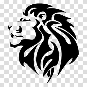 Tigers and lions Tattoo, lion PNG