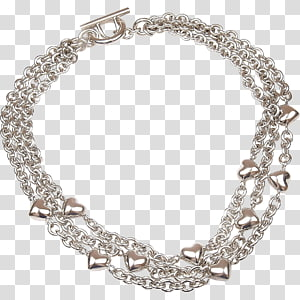 Necklace Jewellery Sterling silver Tiffany & Co., gold chain PNG