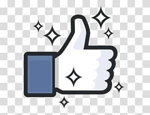 Facebook like illustration, Facebook like button Facebook like button Thumb signal Blog, facebook PNG clipart