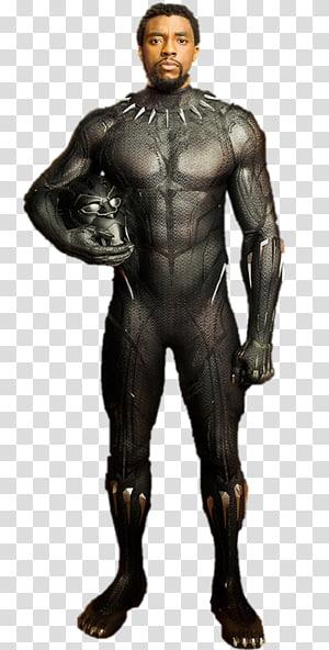 black Panther character, Chadwick Boseman Black Panther Erik Killmonger YouTube Marvel Cinematic Universe, black panther PNG