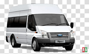 Car Ford Transit Bus Van Ford Transit Custom, car PNG clipart