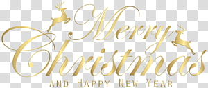 Merry Christmas text, Christmas Party , Merry Christmas Gold PNG