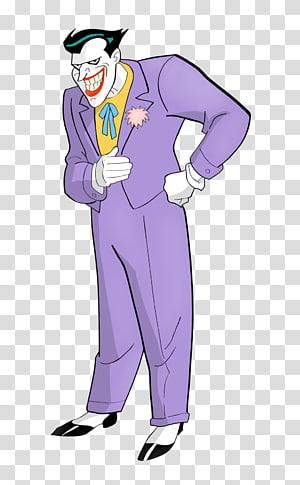 DC Joker graphic, Joker Harley Quinn Batman Penguin Animated series, joker PNG
