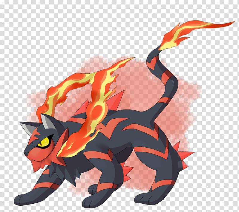 Pokémon Sun and Moon Evolution Litten Évolution des Pokémon, Flame heart PNG