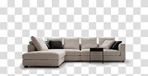 Chaise longue Couch Living room Furniture, Corner room PNG