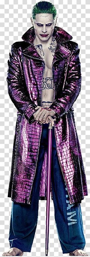 Jared Leto Suicide Squad Joker Harley Quinn Batman, dark knight el joker PNG clipart