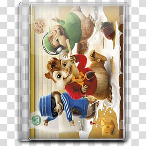 Alvin and the Chipmunks , dog like mammal toy carnivoran, Alvin And The Chipmunks v6 PNG
