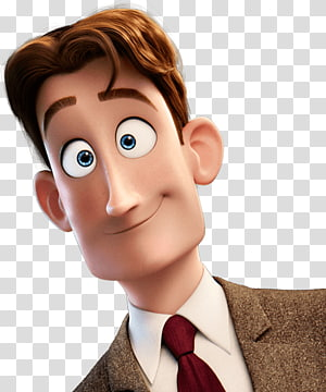 male cartoon character illustration, Storks Henry PNG clipart