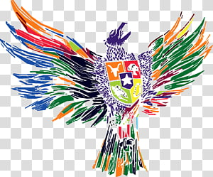 National emblem of Indonesia Garuda Pancasila Muhammadiyah University of Malang, others, multicolored bird logo close-up PNG clipart
