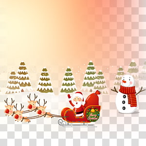 Santa Claus Christmas ornament Gift, Santa Claus giving gifts PNG
