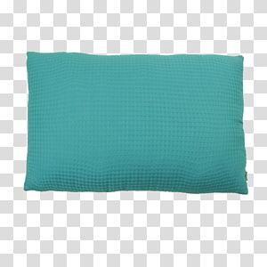 Throw Pillows Turquoise Cushion Rectangle, pillow PNG