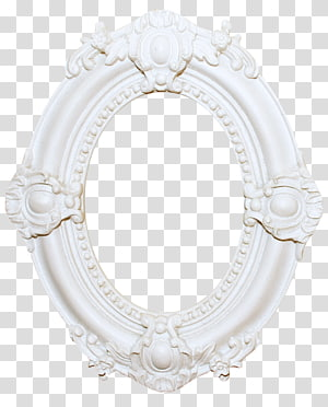 oval white frame , White Oval, Beautiful white frame PNG clipart