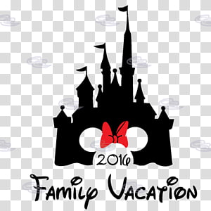 Mickey Mouse Minnie Mouse Cinderella Castle The Walt Disney Company Silhouette, mickey mouse PNG