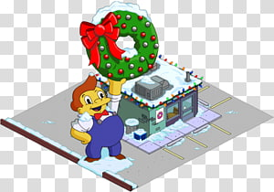 The Simpsons: Tapped Out Donuts The Simpsons Game Homer Simpson Jebediah Springfield, christmas PNG clipart