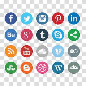 Social media marketing Business Cards Computer Icons Social network advertising, social media PNG