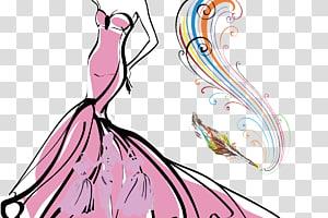 Fashion illustration Fashion design Clothing, fashion runway PNG clipart