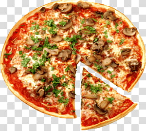 round pizza illustration, New York-style pizza Italian cuisine Fast food Pizza Pizza, Pizza PNG clipart
