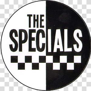 Logo The Specials Brand Sign, button pins PNG clipart
