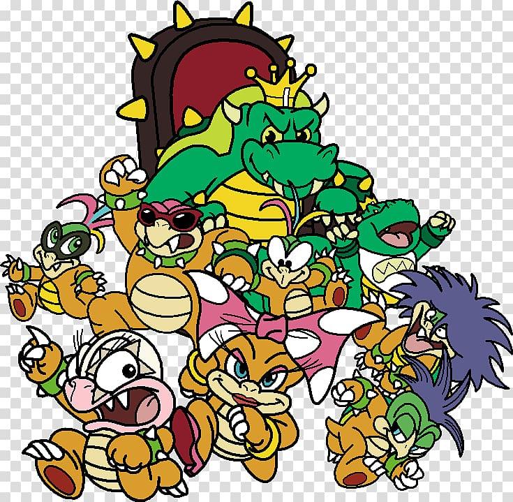 Bowser Super Mario Bros  3, mario PNG clipart | ClipartSky