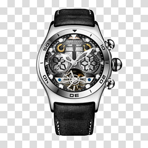 Tourbillon Automatic watch Skeleton watch Chronograph, watch PNG clipart