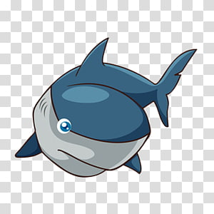 Cartoon Funny animal , Cartoon Whale PNG clipart