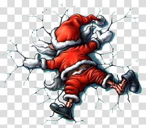 Santa Claus Christmas card Quotation Humour, santa claus PNG clipart