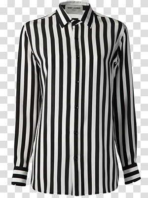 Long-sleeved T-shirt Blouse Long-sleeved T-shirt, striped PNG