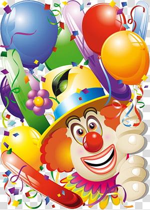 clown PNG clipart