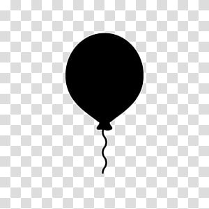 Balloon Silhouette Computer Icons , balloon PNG clipart