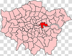 City of Westminster London Borough of Southwark London boroughs Blank map, map PNG clipart