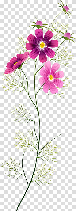 Flower Watercolor painting Floral design, flower PNG