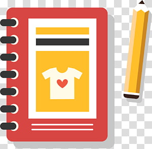 Pen Notebook Designer, notebook PNG clipart