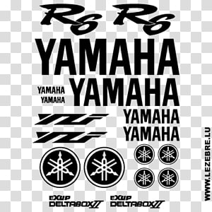Yamaha YZF-R1 Logo Brand Yamaha Motor Company Sticker, decal yamaha PNG