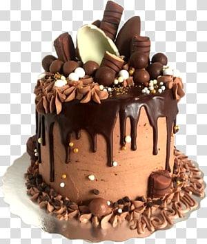 Chocolate cake Birthday cake Layer cake Chocolate brownie Chocolate truffle, chocolate cake PNG