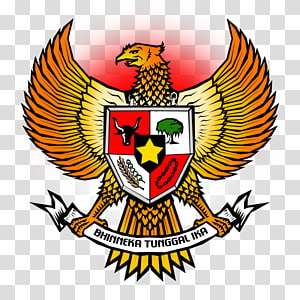 Bhinneka Tunggal Ika logo, National emblem of Indonesia Pancasila Garuda Indonesian, indonesian PNG clipart