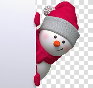 creative christmas snowman PNG clipart