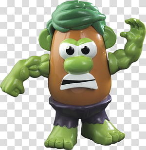 Hulk Mr. Potato Head Thunderbolt Ross Captain America Iron Man, Mrs potato head PNG