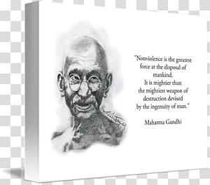 Mahatma Gandhi Art kind Human behavior Sketch, gandhi PNG clipart