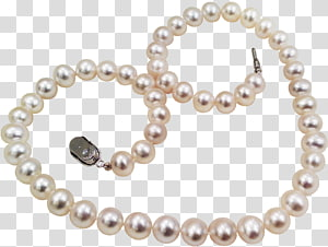 Pearl Material Necklace Bead Body piercing jewellery, Jewelry PNG