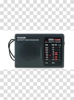 Radio receiver FM broadcasting Tecsun AM broadcasting, radio PNG