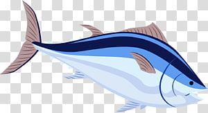 Drawing Illustration, Cartoon seafood, Taobao material, fish PNG clipart