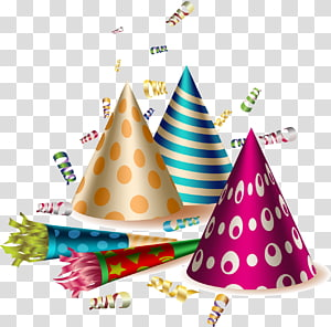 Party horn Birthday , Birthday Party PNG clipart